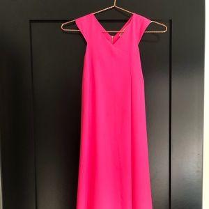 Rachel Roy hot pink cocktail dress